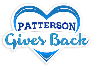 Patterson Gives Back Logo